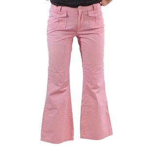 Vintage Old Navy Pink Pants size 14 Girls Flare